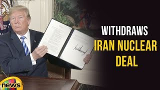 President Donald Trump Withdraws US From The Iran Nuclear Deal   Mango News - MANGONEWS