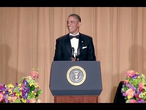 President Obama at White House Correspondents Dinner