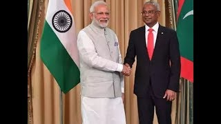 Maldives President Ibrahim Mohamed Solih on 3 day visit to India - TIMESOFINDIACHANNEL
