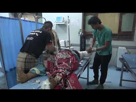 شاهد| استشهاد وجرح ثلاث نساء وطفل في قصف مدفعي حوثي على حيس