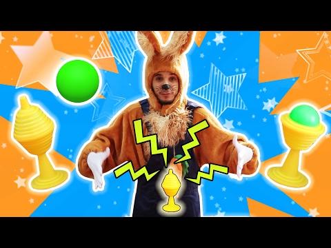 نطنط نهار وأرنوب الحبوب | سحر مع أرنوب - طابة خضراء | Green Ball