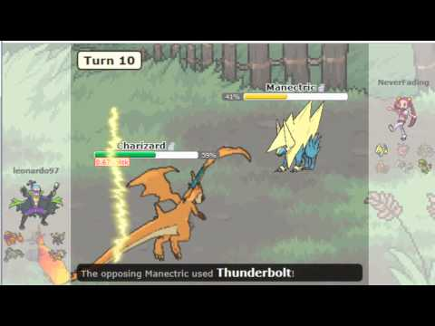 POKEMON Showdown Battle #1