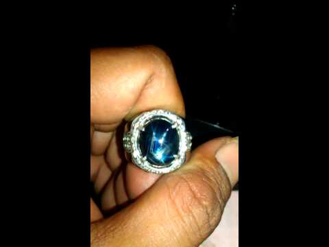 Blue safir star