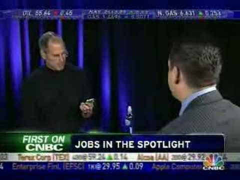 Steve Jobs on CNBC