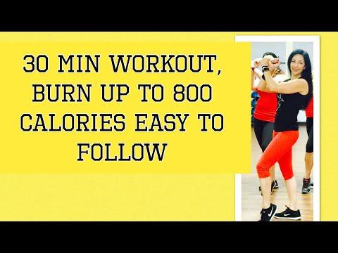 30 Min II Aerobic dance workout II By Danielle's Habibis