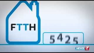 "Tech Talk 12-09-2015 Here comes ""FTTH"" to solve speed issue over internet – News7 Tamil Show"