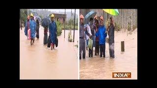 Kerala Floods 2018 Live: Massive rain leaves several homeless amid flood condition in Kalpetta - INDIATV