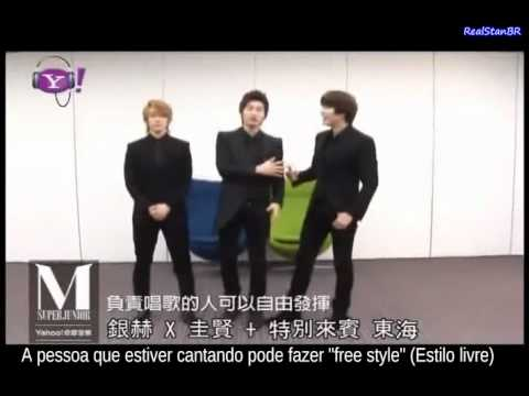 Super Junior M - Ensinando a coreografia de Perfection. (Parte 1)