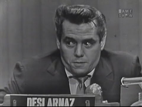 What's My Line? - Desi Arnaz (Nov 9, 1952)