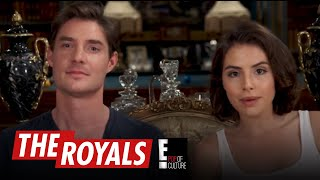 The Royals | Max and Genevieve Play the British Slang Game | E! - EENTERTAINMENT