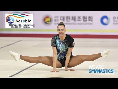 HEGYI Dora (HUN) - 2016 Aerobic Worlds, Incheon (KOR) - Qualifications Individual Women