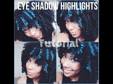 Eye Shadow Highlights for Natural Hair Tutorial