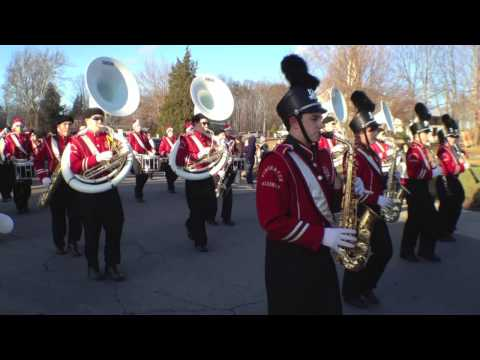 Pinkerton Marching Band | Hampstead NH Christmas Parade 2013