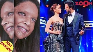 Deepika REVEALS her first look of Chhapaak |Alia & Ranbir win the Best actress & actor awards & more - ZOOMDEKHO