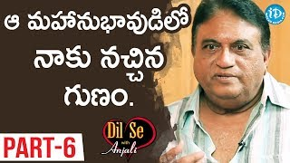 Actor Jayaprakash Reddy Interview Part#6 || Dil Se With Anjali - IDREAMMOVIES