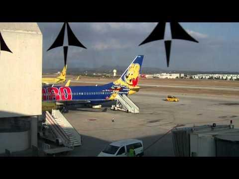 Aviones en el aeropuerto de Palma de Mallorca (PMI)
