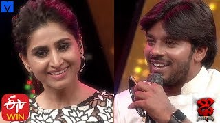 Varshini Funny Punches on Sudheer - Dhee Champions (#Dhee12) - 27th November 2019 - MALLEMALATV