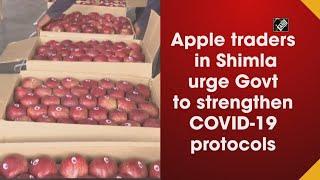 Video - Apple Traders ने Government से Covid Protocol को मजबूत करने का किया आग्रह