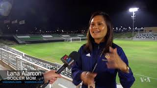 Women's Soccer Gaining Popularity in US - VOAVIDEO