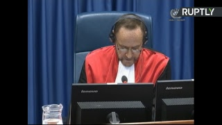 Karadzic faces final war crimes verdict in The Hague - RUSSIATODAY
