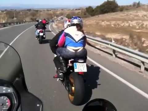 A Navaluenga en moto !