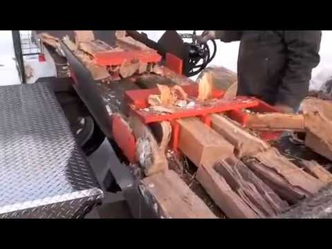 Dad's Wood Splitter: The first Tempest Trailered Unit built