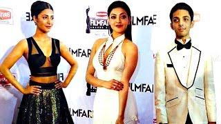 Celebs At Film Fare Awards South 2014 | Allu Arjun | Shruti Hasaan | Lehren Telugu - LEHRENTELUGU