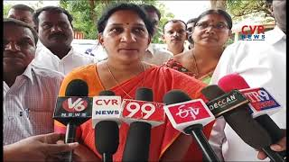 TDP Shobha Rani slams CM KCR over Yadadri Minor Girls Issue | CVR News - CVRNEWSOFFICIAL