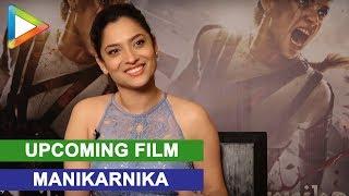 Ankita Lokhande Interview for film Manikarnika | Kangna Ranaut - HUNGAMA