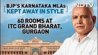 Away From Karnataka Chaos, BJP Lawmakers' 'Boot Camp' At 5-Star Resort - NDTV