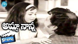 Amma Nanna Movie Scenes - Krishnam Raju Replies To Shashi's Letters || Raja Babu - IDREAMMOVIES