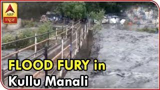 Visuals of flood fury from Kullu-Manali - ABPNEWSTV