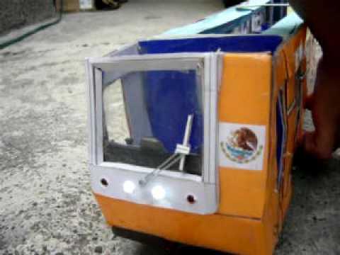 Maqueta del metro de la ciudad de méxico (MP-68)