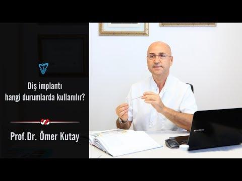 Prof. Dr. Ömer Kutay - Diş implantı hangi durumlarda kullanılır?