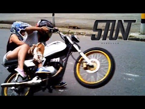 Stunt Medellin - Cepillo dando vueltas