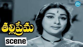 #Mahanati Savitri Thalli Prema Scenes - Lalitha Asks Apoligise To NTR || NTR, Savitri - IDREAMMOVIES