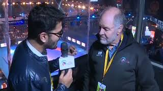 PWL 3 Day 11: Commentator John Taylor speaks over the Pro Wrestling League 2018 season 3 - ITVNEWSINDIA