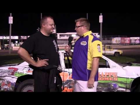 Rod Richards Stock car Feature winner 08/16/14