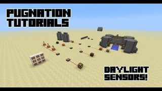 how to build a daylight sensor in minecraft