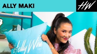 Aly Maki Loves the Island Life!! | Hollywire - HOLLYWIRETV