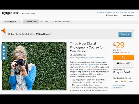 Learn Digital Photography | Amazon Local