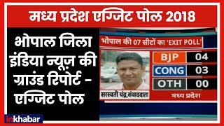 Bhopal District (MP) India News Ground report | Exit Polls 2018 | who will rule Bhopal (MP) - ITVNEWSINDIA