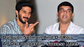 Dulquar Salman And Dil Raju At 'Ok Bangaram' Success Meet - IGTELUGU