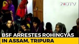31 Rohingya Handed To Tripura Police Ending Standoff With Bangladesh - NDTV