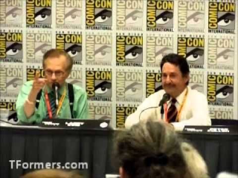 SDCC 2012 Larry King Interview with Peter Cullen - Part 2