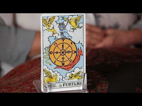 How to Read the Wheel of Fortune Card | Tarot Cards