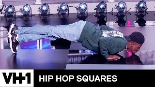 DC Young Fly & Michael Blackson's Push-Up Contest 'Deleted Scene' | Hip Hop Squares - VH1