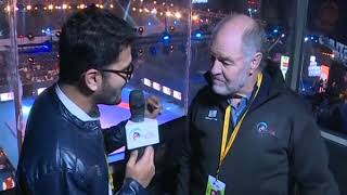 PWL 3 Day 11: Commentator John Taylor speaks over Pro Wrestling League 2018 - NEWSXLIVE