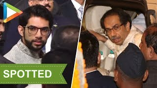 CHECK OUT: Uddhav Thackeray & Aditya Thackeray attend Isha - Anand's Wedding Celebrations - HUNGAMA