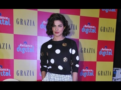 Priyanka Chopra Launches Grazia Magazine December Issue